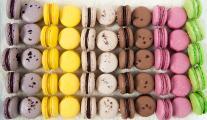 Macarons selection
