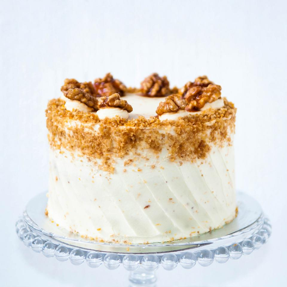 """Buy 8"""" carrot walnut cake online £65.00 delivered Crouch End, London"""