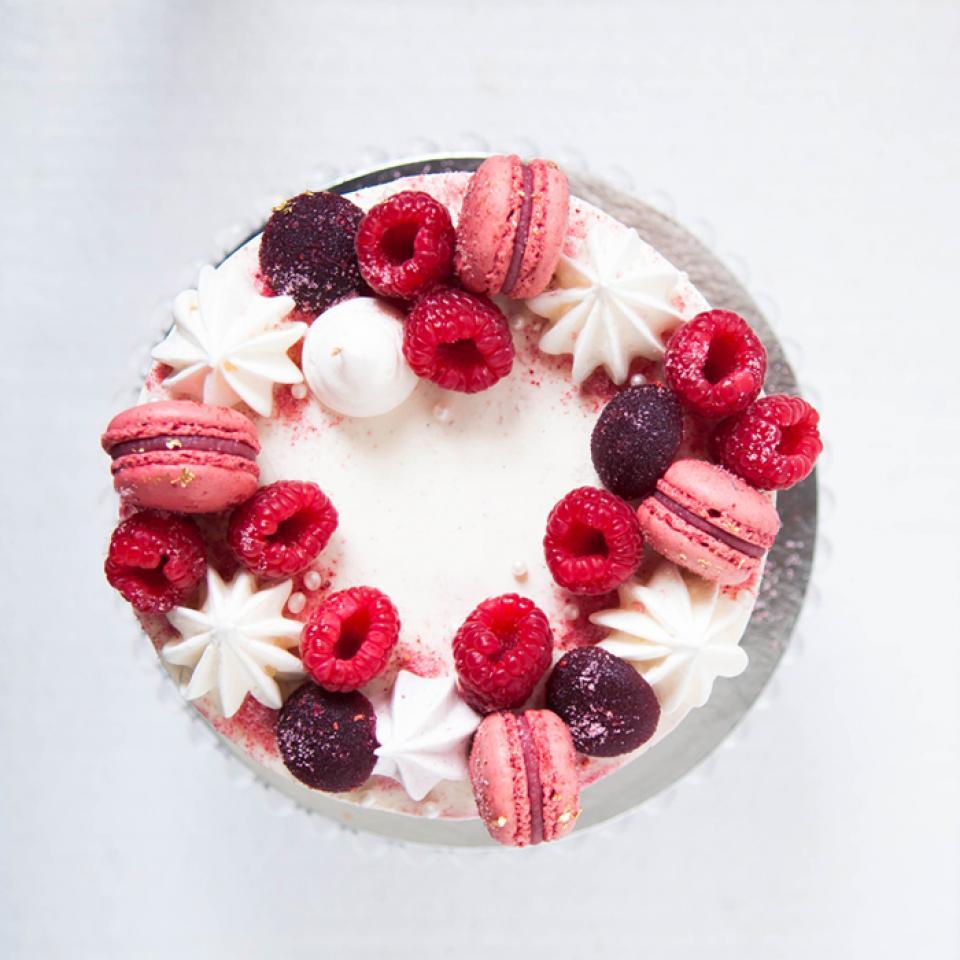 """Celebration Red velvet cake in 6"""", 8"""", 10"""" buy online Chigwell"""