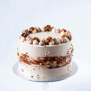"6"" coffee walnut cake buy online £45.00 delivered London"
