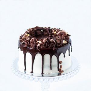 """6"""" Chocolate Guinness and Irish Baileys cream cake order online London"""