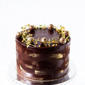 """6"""" chocolate truffle cake buy online £45.00 delivered London"""
